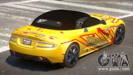 Aston Martin DBS Volante SR PJ5 for GTA 4