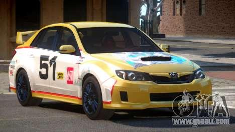 Subaru Impreza WRX SR PJ6 for GTA 4
