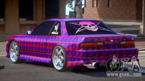 Nissan Silvia S13 TR PJ3 for GTA 4