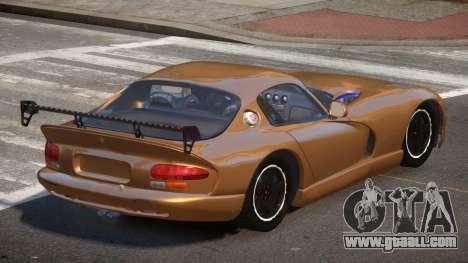 Dodge Viper GS for GTA 4