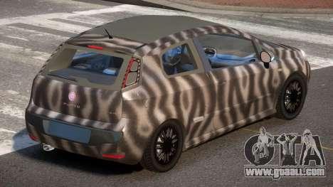 Fiat Punto TR PJ4 for GTA 4