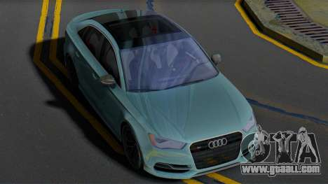Audi S3 8V for GTA San Andreas