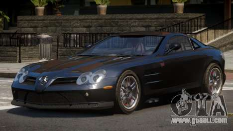 Mercedes Benz SLR A-Style for GTA 4