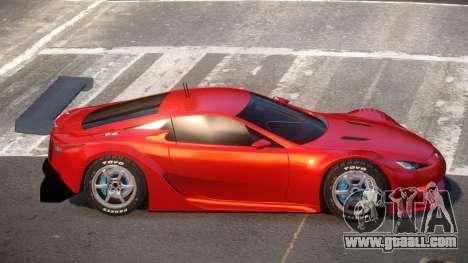 Lexus LFA R-Style for GTA 4