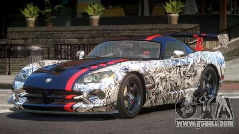 Dodge Viper SRT M-Sport PJ4 for GTA 4