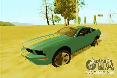 Ford Mustang 2005 (SA Style) for GTA San Andreas