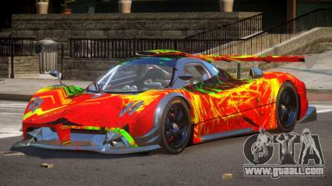 Pagani Zonda SR PJ2 for GTA 4