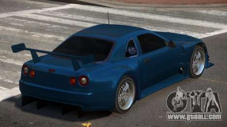 Nissan Skyline R34 R-Tuned for GTA 4