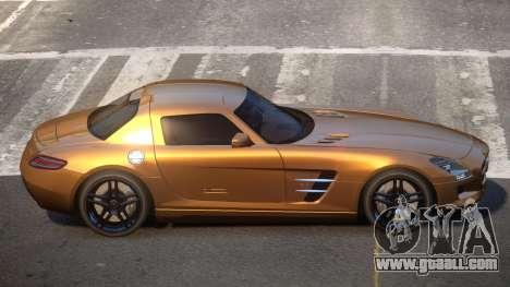 Mercedes Benz SLS JR for GTA 4