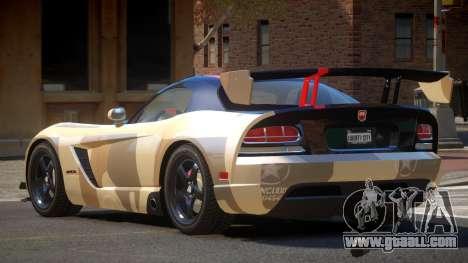 Dodge Viper SRT M-Sport PJ2 for GTA 4