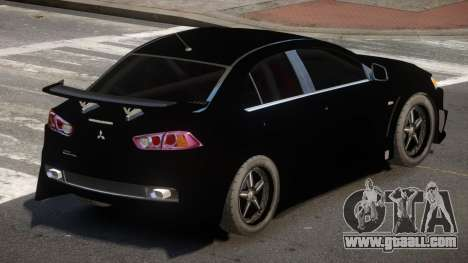 Mitsubishi Lancer X RT for GTA 4