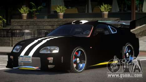Toyota Supra S-Tuning for GTA 4