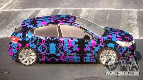 Citroen DS4 ST PJ4 for GTA 4
