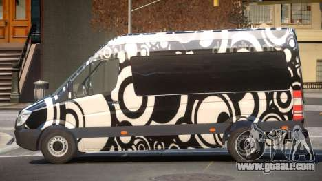 Mercedes Benz Sprinter MR PJ4 for GTA 4