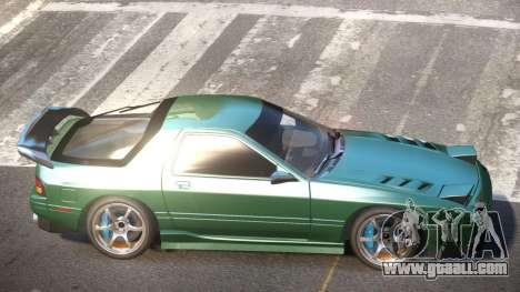 Mazda RX7 G-Tuned for GTA 4