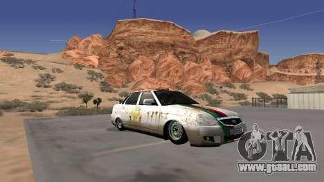 Rusty Lada Priora Dagestan for GTA San Andreas