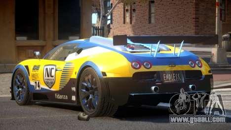 Bugatti Veyron SR 16.4 PJ2 for GTA 4