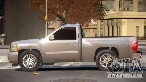 Chevrolet Silverado RT for GTA 4