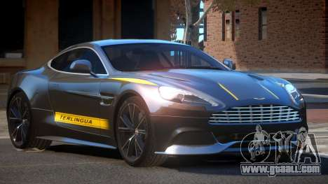 Aston Martin Vanquish LT PJ3 for GTA 4