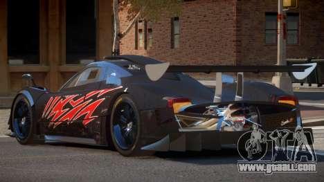 Pagani Zonda SR PJ6 for GTA 4