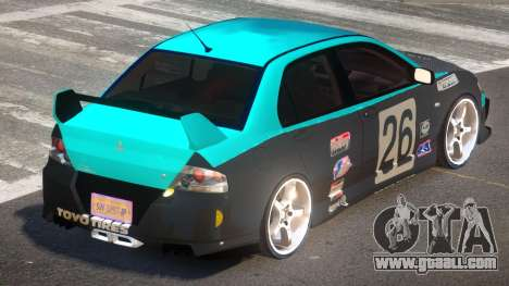 Mitsubishi Lancer G-Style PJ4 for GTA 4