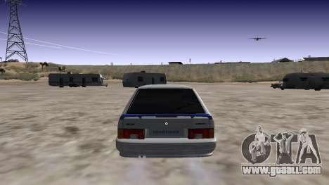 VAZ 2114 (Skyline R34 Paint Job) for GTA San Andreas