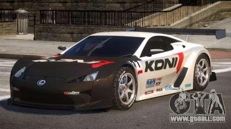 Lexus LFA R-Style PJ2 for GTA 4