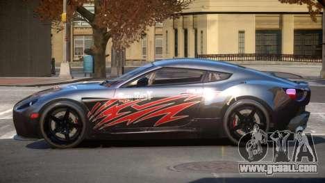 Aston Martin Zagato G-Style PJ5 for GTA 4