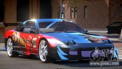 Nissan 240SX D-Tuned PJ6 for GTA 4