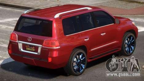 Lexus LX570 E-Style for GTA 4