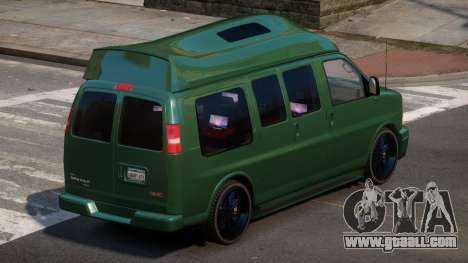 GMC Savana Travels for GTA 4