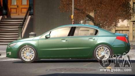 Pegeout 508 E-Style for GTA 4