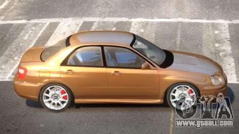 1998 Subaru Impreza for GTA 4