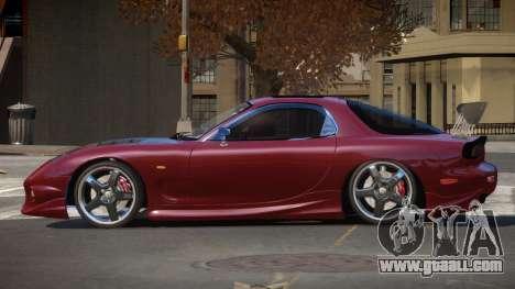 Mazda RX7 PSR for GTA 4