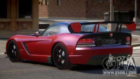 Dodge Viper SRT RG for GTA 4