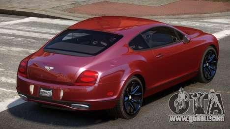 Bentley Continental TR for GTA 4