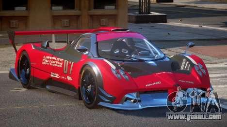 Pagani Zonda SR PJ5 for GTA 4