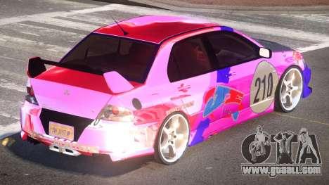 Mitsubishi Lancer G-Style PJ3 for GTA 4
