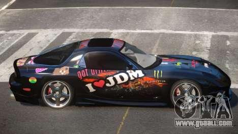 Mazda RX7 PSR PJ3 for GTA 4