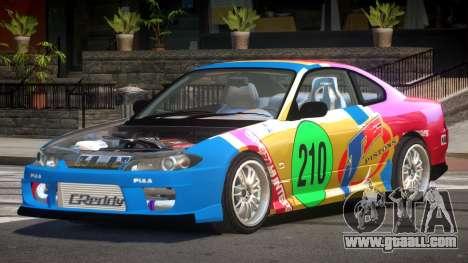Nissan Silvia S15 M-Sport PJ6 for GTA 4