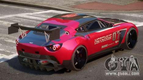 Aston Martin Zagato G-Style PJ1 for GTA 4
