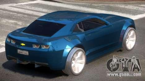 Chevrolet Camaro LF for GTA 4