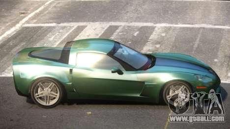 Chevrolet Corvette C6 LDI for GTA 4