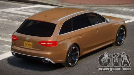Audi RS4 S-Tuned for GTA 4