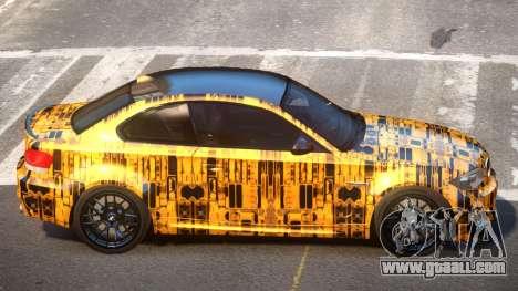 BMW 1M E82 MS PJ6 for GTA 4
