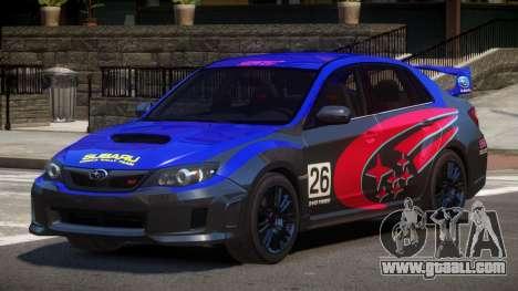 Subaru Impreza WRX SR PJ4 for GTA 4