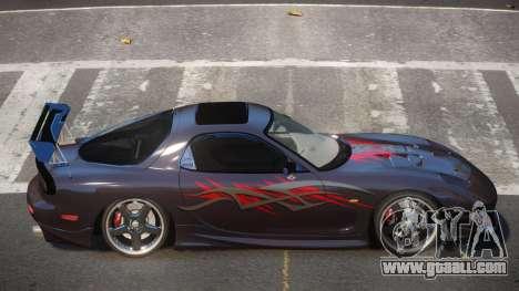Mazda RX7 PSR PJ5 for GTA 4