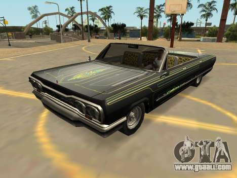 Declasse Savanna (IVF-BADGES-EXTRAS-PJ) for GTA San Andreas