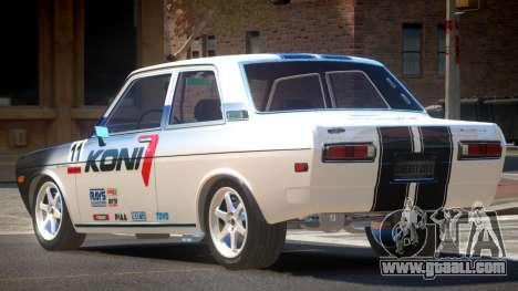 1972 Datsun Bluebird 510 PJ2 for GTA 4