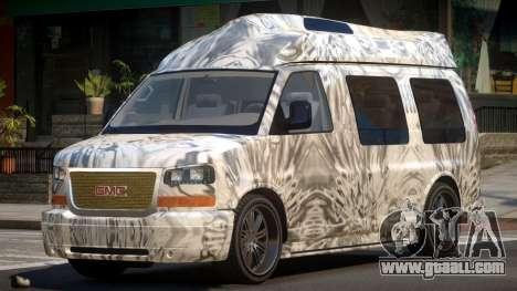 GMC Savana Travels PJ6 for GTA 4
